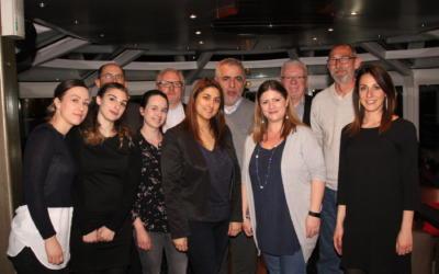 Direction Paris en Seine pour un dîner-croisière avec l'équipe MySinistre!